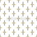 Cruzes Mínimas Design de padrão vetorial sem costura