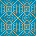 Arabic Geometric Seamless Vector Pattern Design