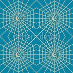 Árabe Geométrico Estampado Vectorial Sin Costura