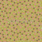 Spring Dots Seamless Vector Pattern Design