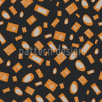 The Lights Are On Seamless Vector Pattern Design