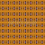 Formação de retângulo Design de padrão vetorial sem costura