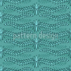 Wavy Branches Seamless Vector Pattern Design