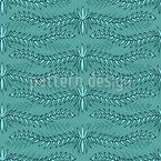 Wellenförmige Zweige Nahtloses Vektormuster