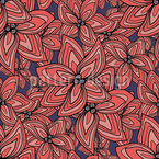 Psychodahlia Seamless Vector Pattern Design