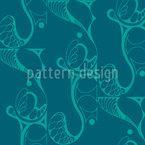 Flair emaranhado Design de padrão vetorial sem costura