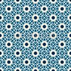 Arabische Blumen Und Linien Vektor Ornament
