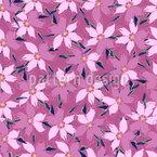 Lichtung Der Blühenden Tulpen Nahtloses Vektormuster
