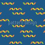 Confetti Ribbon Pattern Design