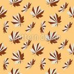 Herbstliche Geometrie Musterdesign