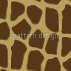 Giraffine Skin Seamless Vector Pattern Design