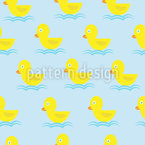 All Your Little Ducklings Vector Ornament