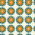 Sunny Thistle Seamless Pattern