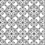 Islamic Geometry Seamless Vector Pattern Design