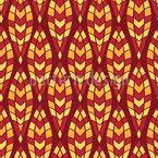 Olas mosaicas Estampado Vectorial Sin Costura