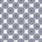 Bohemian Mandalas Seamless Vector Pattern Design