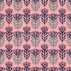 Farbenfrohe Blumen Nahtloses Vektormuster
