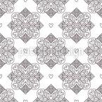 Tiles Of Love Pattern Design