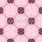Gentle Circles Seamless Vector Pattern Design
