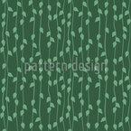 Hängende Blätter Vektor Muster