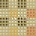 織物チェック シームレスなベクトルパターン設計