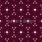 Favo de mel pontilhado Design de padrão vetorial sem costura