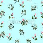 Fantastic Rose Petals Seamless Vector Pattern Design