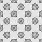 Gitterblüte Vektor Ornament