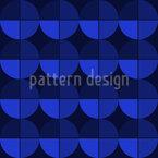 Viertel Im Farbverlauf Vektor Muster