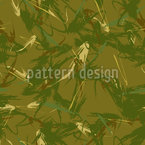 Abstract Swamp Seamless Vector Pattern Design