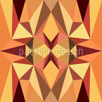 Geometric Dimension Seamless Vector Pattern Design