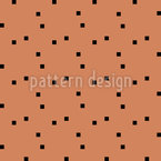 Quadrados Minimalistas Design de padrão vetorial sem costura