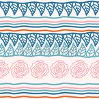 Garden Beds Seamless Vector Pattern Design