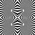 Psychedelic Black And White Design Pattern