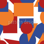 Chaos Of Shapes Vector Design