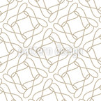 One Line Loop Seamless Vector Pattern Design
