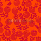 Bright Berries Seamless Vector Pattern Design