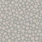 Muted Circles Seamless Vector Pattern Design