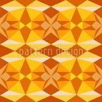 Sol Geométrico Design de padrão vetorial sem costura