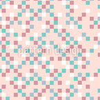 Pastel Pixels Vector Ornament