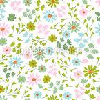 Kleine Frühlingsgefühle Nahtloses Vektormuster