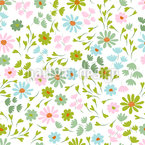 Tiny Spring Feelings Seamless Vector Pattern Design