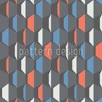 Broken Cubes Seamless Vector Pattern Design