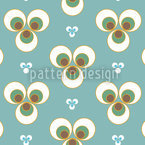 Ottomani Aqua Seamless Vector Pattern Design