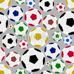 Vereinigtes Fußball Nahtloses Vektormuster