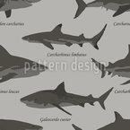 Lexicon Of Man-eaters Seamless Vector Pattern Design