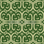Oriental Avenue Seamless Vector Pattern Design