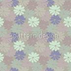 Pastellblüten Muster Design