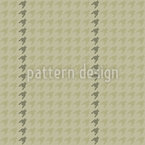 微妙な千鳥格子 シームレスなベクトルパターン設計