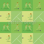 Soccer Check Seamless Vector Pattern Design